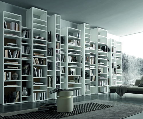 Custom Bookcase Unit 002895