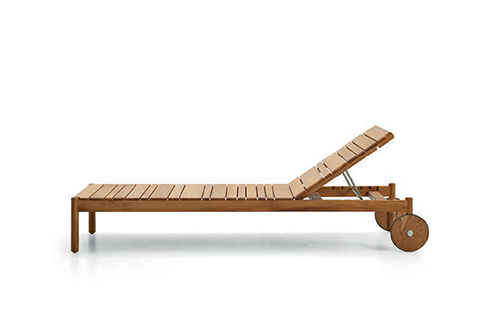 Outdoor Sun Lounger 09512