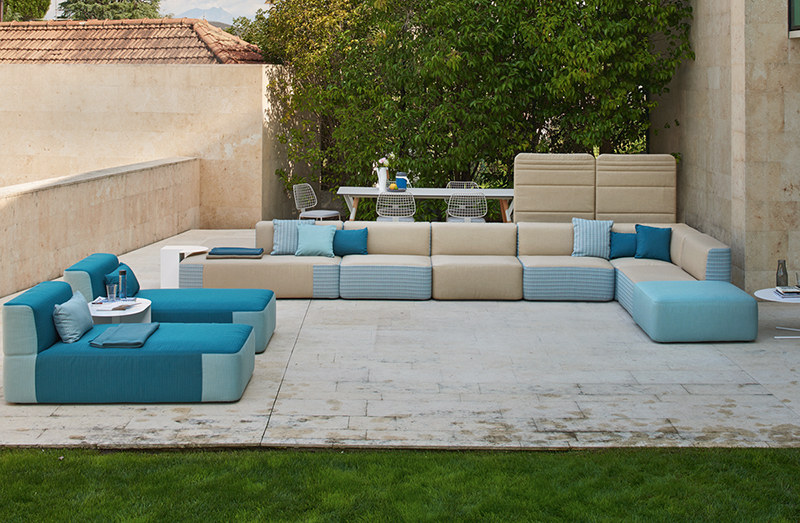 Outdoor Modular Sofa 09519